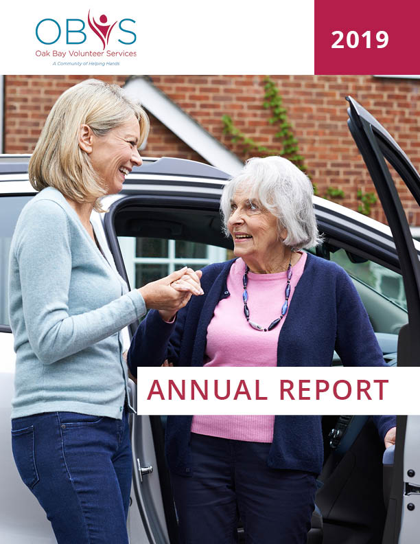 annual report 2019 oak bay volunteer services