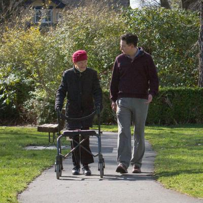 Walk or Wheelchair Pushes Services Oak Bay Volunteer Services